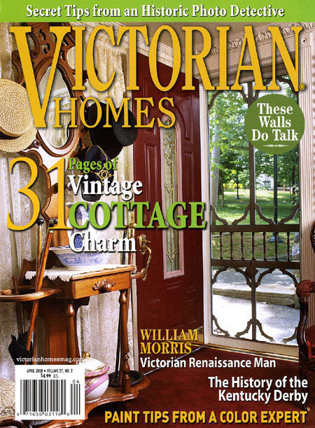 Victorian Homes 2008 April cover 3x4